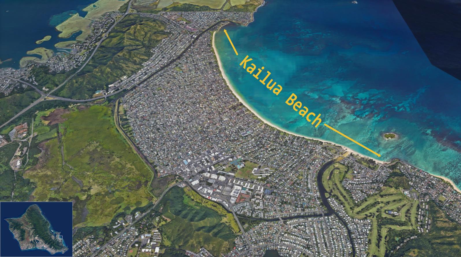 Kailua Beach Oahu Vacation Rentals Pacific Islands